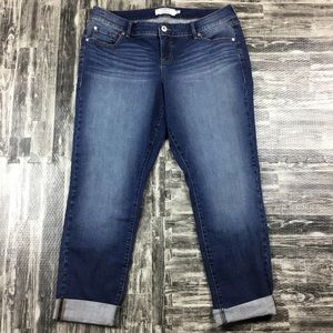Torrid Plus Size 14R New Jeans Pants Dark Blue